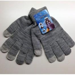 Touchscreen Handschuhe grau