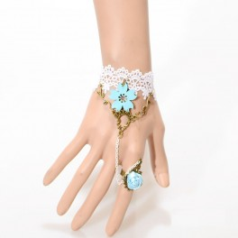 Bracelet with Ring sea ​​of ​​flowers