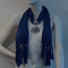 Jewelry scarf Elephant