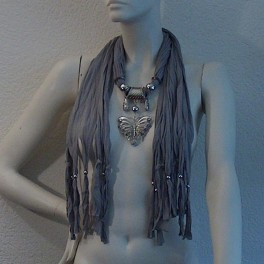 Jewelry scarf butterfly