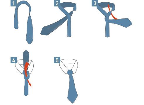 Kent tie knot